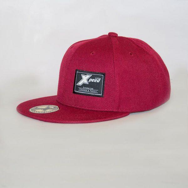 Xpeed Brand gorra plana bordo snap cap