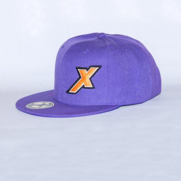 Xpeed gorra plana violeta snap cap