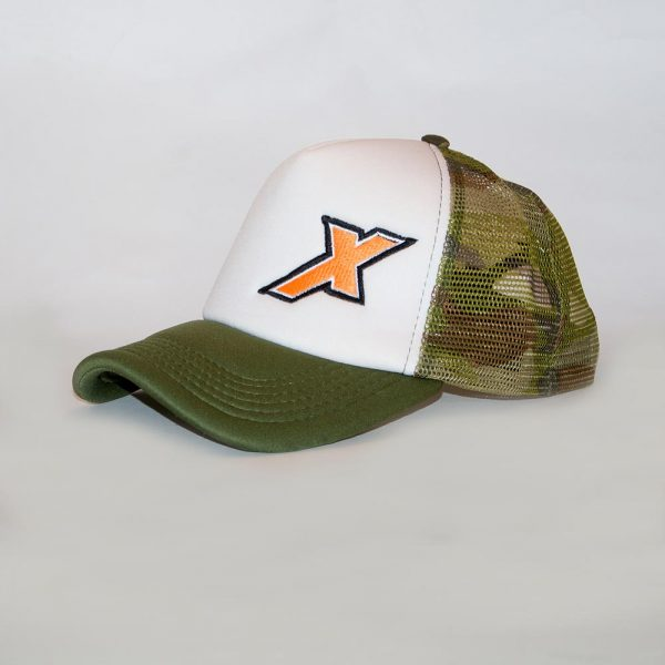 Gorra Trucker X Verde y Blanca red Camuflada - Xpeed Argentina d57aace0761